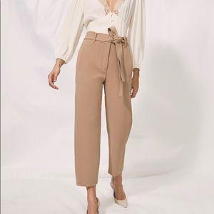 Aritzia Wilfred front tie pants / jallade pant